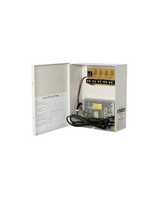 2yr 16 Camera 12v DC 20A 1.5U Rackmount Switchable Power Box 110V//240V AC