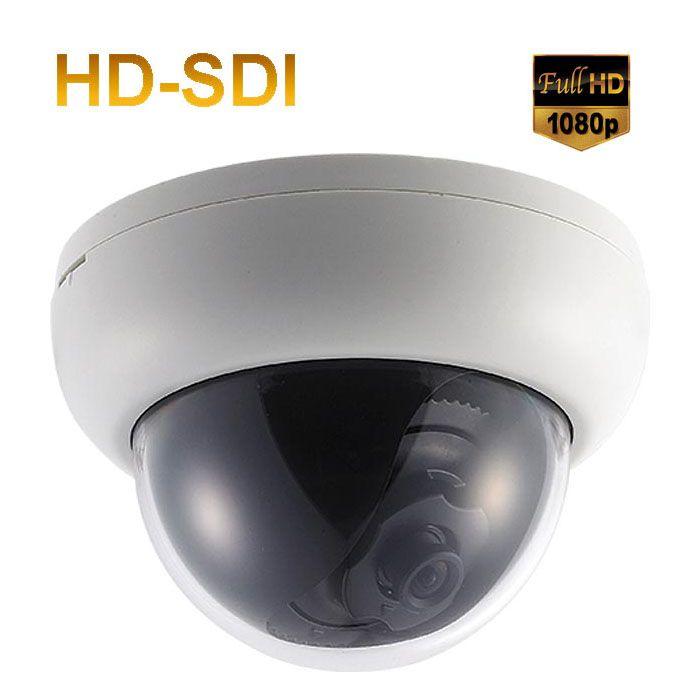 WDR 3.6mm Lens XDM-202 HD-SDI Indoor Dome camera: Full HD 1080p DNR