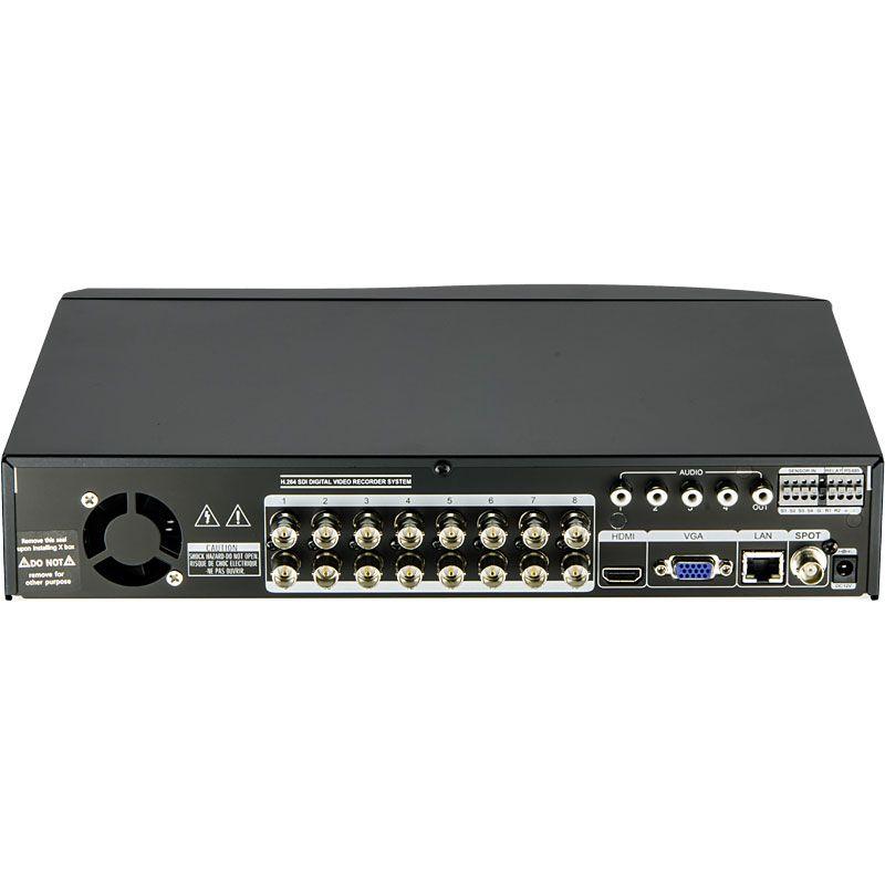 No Hard Drive HDD HD TVI TVST Magic-TL16 DVR 16 Channel